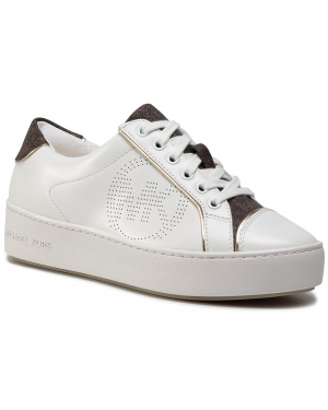 Sneakersy MICHAEL MICHAEL KORS - Kirby Lace Up 43T0KBFS1L Op Wht/Brown