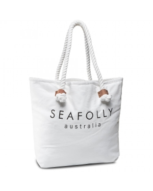 Torba SEAFOLLY - Ship Sail Tote 71147-BG White