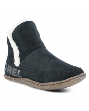 Botki SOREL - Nakiska Bootie NL3389 Black/Natural 010
