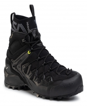 Trekkingi SALEWA - Ms Wildfire Edge Mid Gtx GORE-TEX 61350-0971 Black/Black