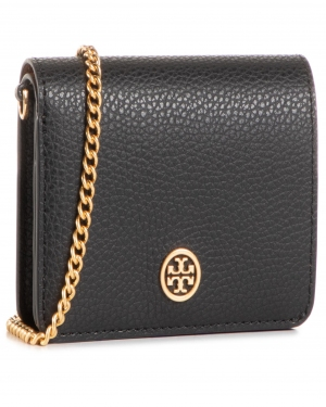 Torebka TORY BURCH - Walker Nano Chain Wallet 74851 Black 001