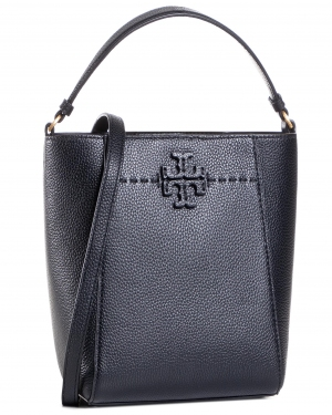 Torebka TORY BURCH - Mcgraw Small Bucket 74956 Black 001
