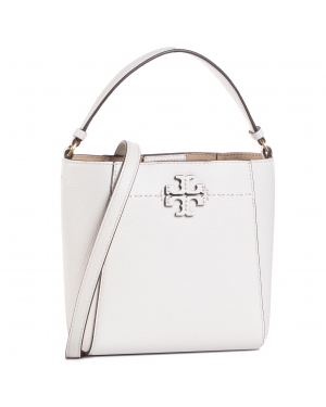 Torebka TORY BURCH - Mcgraw Small Bucket 74956 New Ivory 104