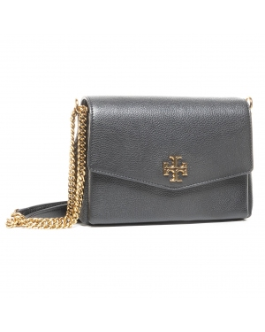 Torebka TORY BURCH - Kira Pebbled Small 74643 Black 001