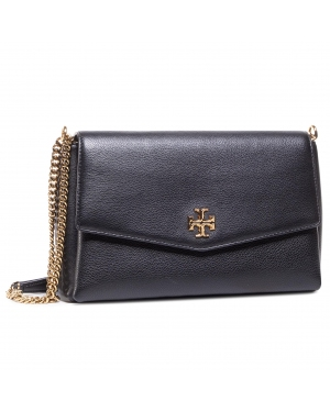 Torebka TORY BURCH - Kira Pebbled Convertible Shoulder 73576 Black 001