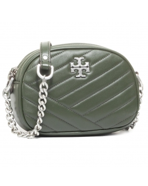 Torebka TORY BURCH - Kira Chevron Camera Bag 60227 Poblano/Rolled Nickel #3 352