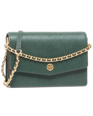 Torebka TORY BURCH - Robinson Mini Shoulder Bag 75247 Pine Tree 304