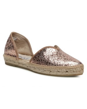 Espadryle MANEBI - Open-Side Flats G 0.4 O0 Rose Gold