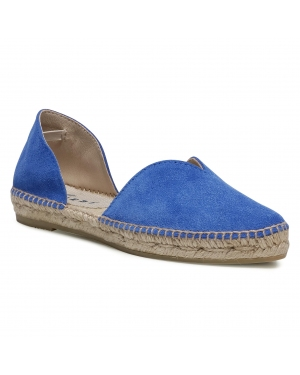 Espadryle MANEBI -  Open-Side Flats M 3.0 O0 Electric Blue