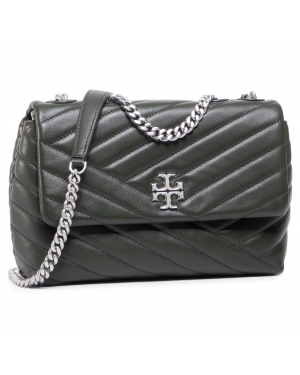 Torebka TORY BURCH - Kira Chevron Small 64963 Poblano/Rolled Nickel 352