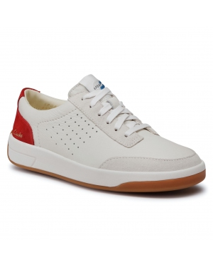 Sneakersy CLARKS - Hero Air Lace 261528774 White /Red