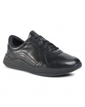 Sneakersy CLARKS - Sift Speed 261481237 Black Leather