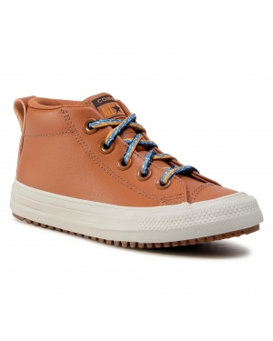 Sneakersy CONVERSE - Ctas Street Boot Md 668490C Warm Tan/Cape Blue