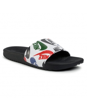 Klapki NIKE - Kawa Slide Se Jdi (Gs/Ps) CT6619 010 Black/White