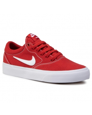 Buty NIKE - Sb Charge Cnvs (Gs) CQ0260 600 Mystic Red/White