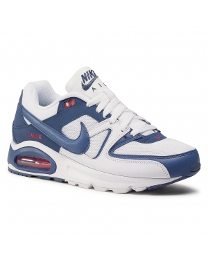 Buty NIKE - Air Max Command CT1286 100 White/Mystic Navy/Cardinal Red