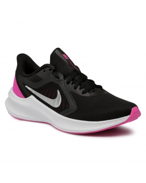 Buty NIKE - Downshifter 10 CI9984 004 Black/Metalic Silver