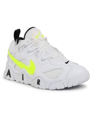 Buty NIKE - Air Barrage Low CN0060 100 White/Volt/Black