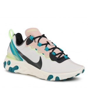 Buty NIKE - React Element 55 BQ2728 202 Fossil Stone/Dk Smoke Grey