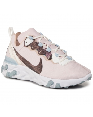 Buty NIKE - React Element 55 SE CN3591 600 Barely Rose/Fossil Stone