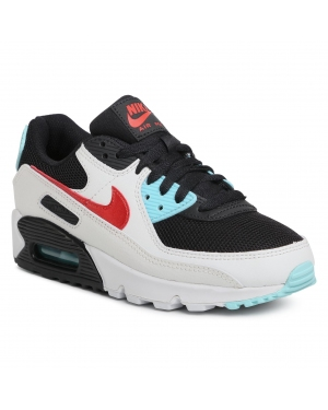 Buty NIKE - Air Max 90 DA4290 100 Summit White/Chile Red
