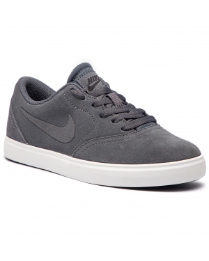 Buty NIKE - Sb Check Suede (GS) AR0132 002  Dark Grey/Dark Grey Black