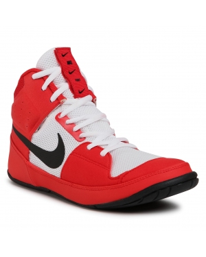 Buty NIKE - Fury A02416 601 University Red/Black/White