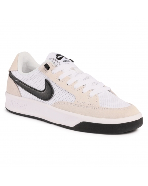 Buty NIKE - Sb Adversary CJ0887 100 White/Black/White