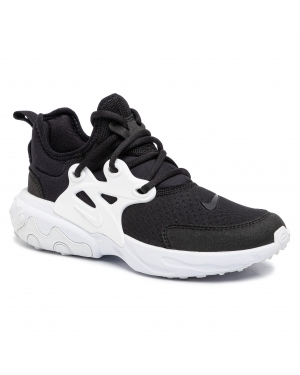 Buty NIKE - React Presto (Gs) BQ4002 001  Black/White