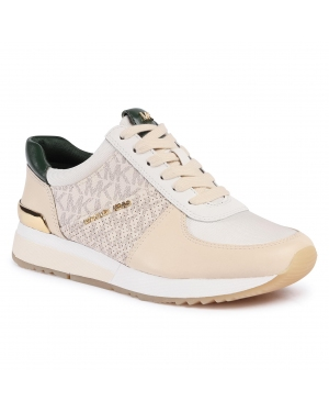 Sneakersy MICHAEL MICHAEL KORS - Allie Trainer 43F0ALFS3L Ecru Multi