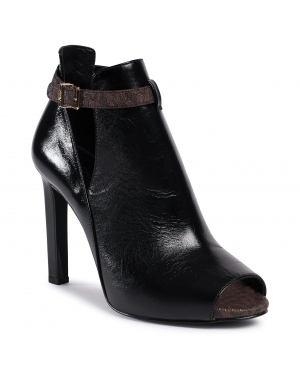 Botki MICHAEL MICHAEL KORS - Lawson Open Toe 40F0LAHS2L  Blk/Brown