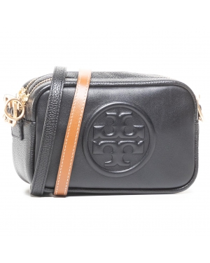 Torebka TORY BURCH - Perry Dombe Double Strap Mini Bag 73524 Black/Black 009