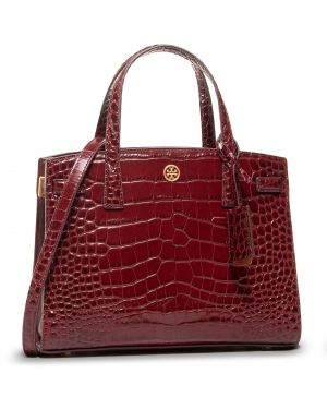Torebka TORY BURCH - Walker Embossed 74603 Claret