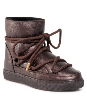Buty INUIKII - Sneaker Full Leather 70202-089 Dark Brown