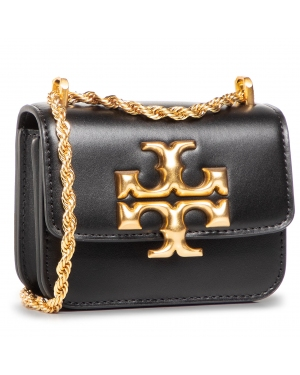 Torebka TORY BURCH - Eleanor Mini Crossbody 73580 Black 001