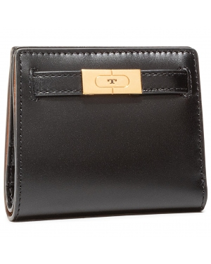 Mały Portfel Damski TORY BURCH - Lee Radziwill Mini Wallet 73584 Black 001