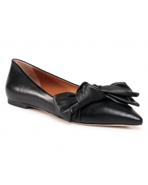 Półbuty TORY BURCH - 5Mm Bow Flat 76710 Perfect Black 006