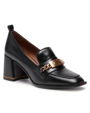 Półbuty TORY BURCH - Ruby 70MM Loafer 71676 Black 004