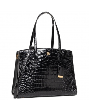 Torebka TORY BURCH - Walker Embossed 73629 Black 001