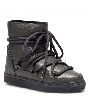 Buty INUIKII - Snker Full Leather 70202-089 Dark Grey