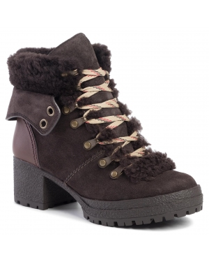 Botki SEE BY CHLOÉ - SB31121A Grafite/Natural Calf 545/Shearling 501