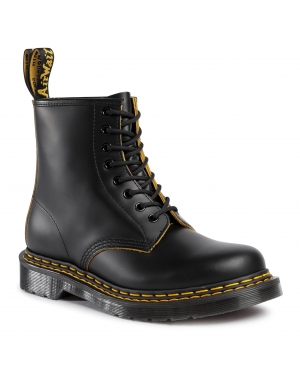 Glany DR. MARTENS - 1460 Ds 26100032 Black/Yellow