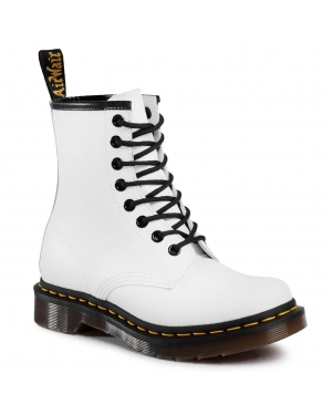 Glany DR. MARTENS - 1460 Smooth 11821100 White