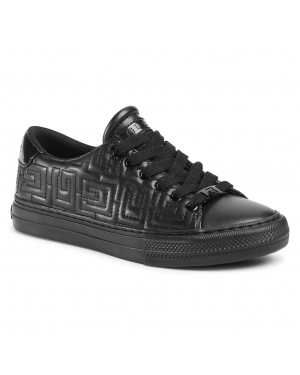 Sneakersy GUESS - Goldenn FL8GOL ELE12 BLACK