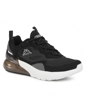 Sneakersy KAPPA - Durban 242914  Black/White 1110
