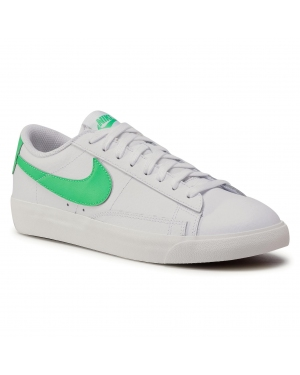 Buty NIKE - Blazer Low CI6377 105 White/Green/Spark Sail