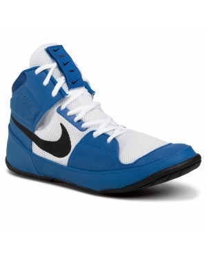 Buty NIKE - Fury A02416 401 Team Royal/Black/White