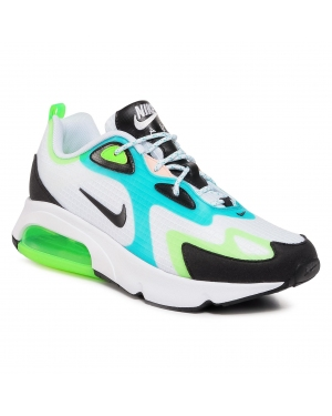 Buty NIKE - Air Max 200 Se CJ0575 101 White/Black/Electric Green