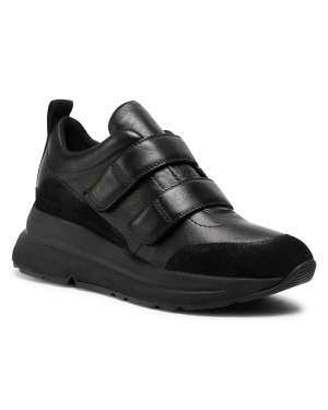 Sneakersy GEOX - D Backsie D D04FLD 08522 C9999 Black