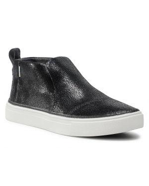 Tenisówki TOMS - Paxton 10015786 Black Metallic Crackle Suede